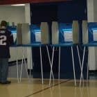 A voter makes his choices during the 2014 primary. The 2018 election is Tuesday, Nov. 6.