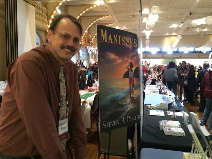 "[CREDIT: Rob Borkowski] Steve Porter, president of ARIA and author of ""Manisses""."