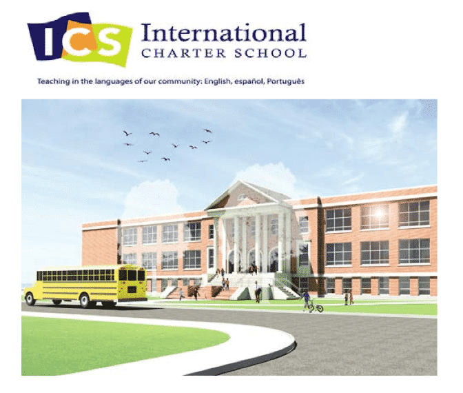 [CREDIT: ICS] International Charter School has bid $1.9 million for the former Aldrich Jr. High building.