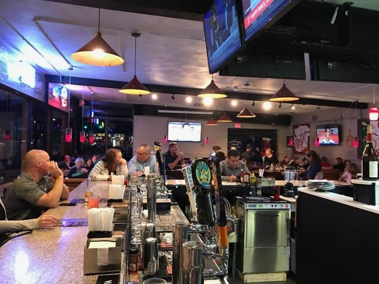 [CREDIT: Palazzo's Pizza] A look inside Palazzo's Pizza, where new and old customers are enjoying themselves nightly.