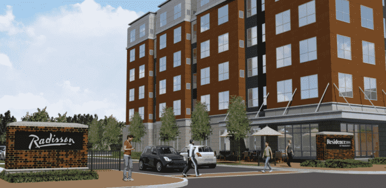 [CREDIT: City of Warwick] Pinnacle Hotel Management is planning a $30 million, 140-room Residence Inn by Marriott on Montebello Road in Warwick.