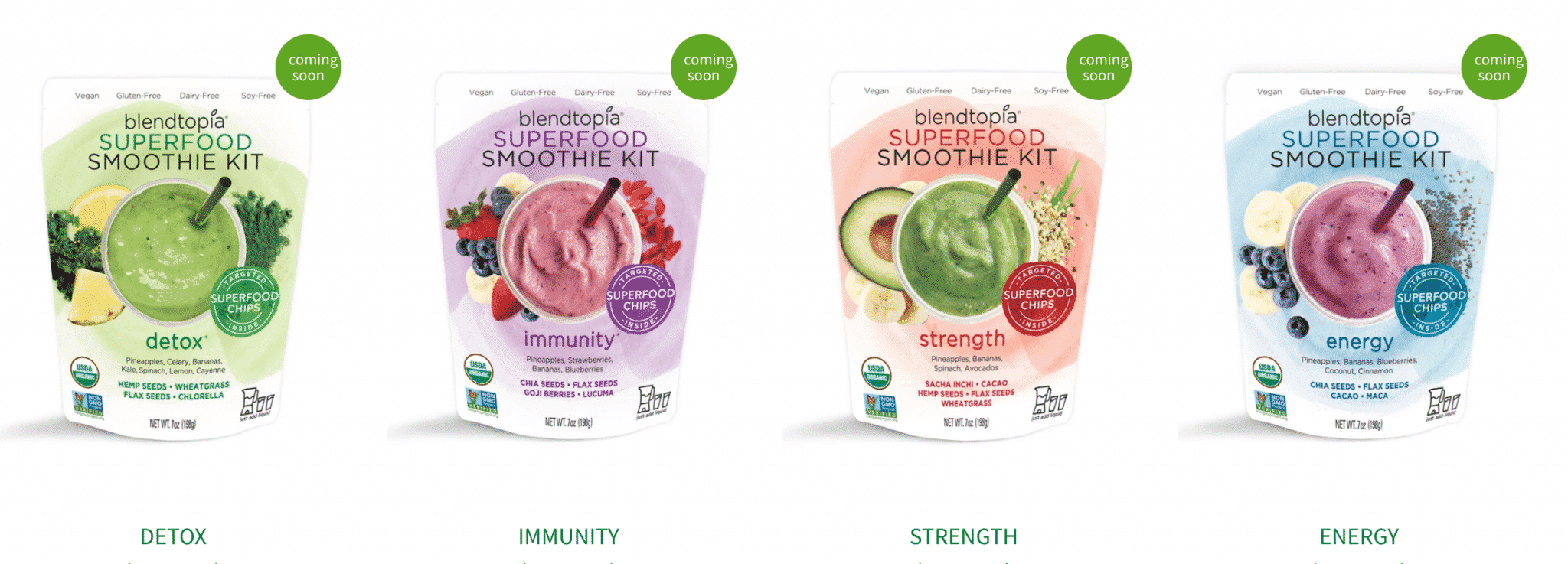 [CREDIT: Blentopia] Blendtopia has recalled certain frozen smoothie kit due to Listeria risk.