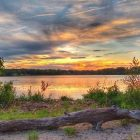 [CREDIT: Lincoln Smith] Gorton Pond at sunset on May 25, 2021.