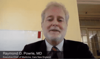 [CREDIT: CNE] Dr. Raymond O. Powrie notes the COVID19 vaccine has been found to be safe for pregnant women and greatly reduces the risk of severe complications of COVID19.